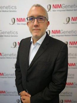 El director de desarrollo corporativo de NIMGenetics, Jaime Vázquez.
