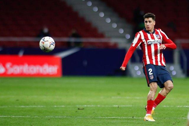 Archivo - José María Giménez, jugador del Atlético de Madrid.