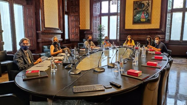 Reunió de la Mesa del Parlament