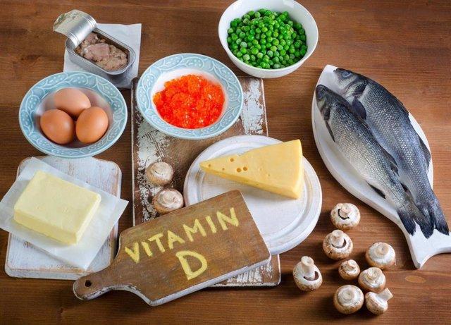 Archivo - Alimentos que contienen Vitamina D