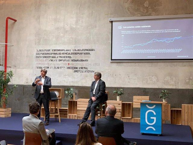"""Presentación del informe """"Diagnosis para afrontar la transformación digital"""" de GANVAM elaborado en colaboración con la consultora GIPA"""