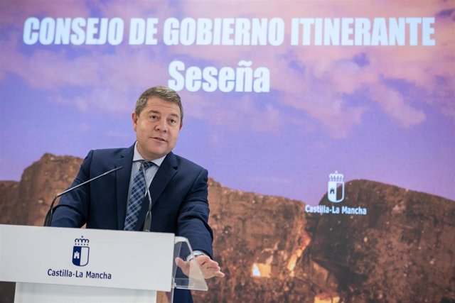 El presidente de Castilla-La Mancha, Emiliano García-Page, preside el Consejo de Gobierno itinerante en Seseña (Toledo)