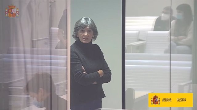 Archivo - María Soledad Iparraguirre en el juicio por su colaboración en un atentado del 94 en Getxo.