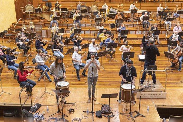 Archivo - Kalakan eta Euskadiko Orkestra entseatzen