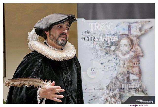 Archivo - Imagen de archivo del Tren de Cervantes.