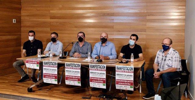 Las seis organizaciones agrarias con presencia en la DOC Rioja convocan una manifestación por unos precios dignos