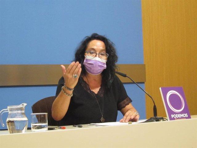 La concejal de Podemos, Amparo Bella