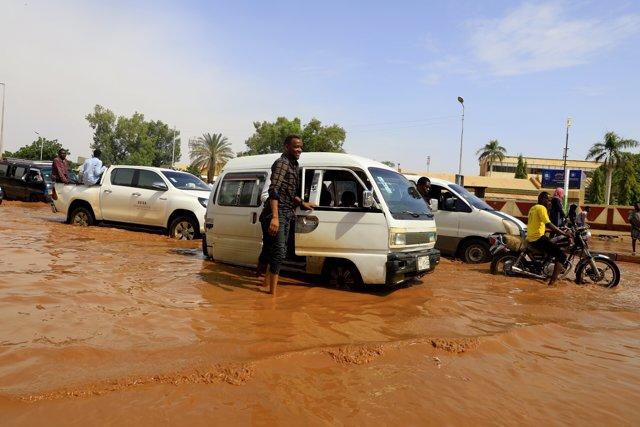 Inundaciones es Jartum, capital de Sudán del Sur