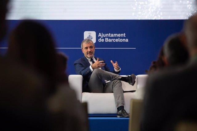 Archivo - El primer teniente de alcalde de Barcelona, Jaume Collboni, en la sesión en la Reunió Cercle d'Economia 'Barcelona ante la competitividad global'.