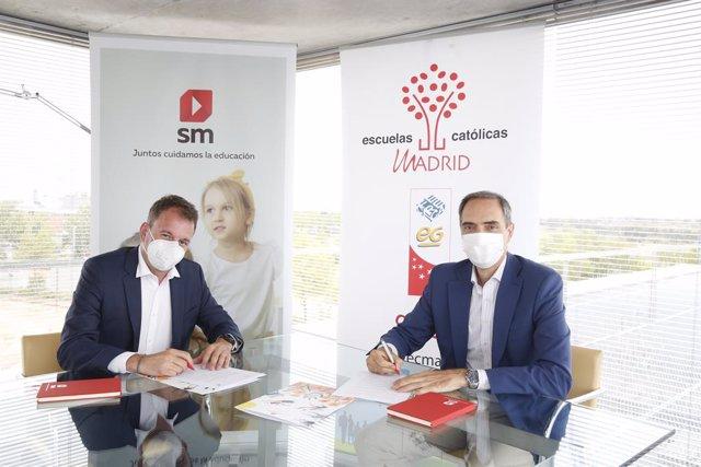 Firma SM y Escuelas Católicas Madrid