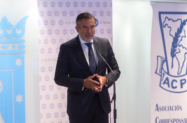 El consejero de Presidencia, Justicia e Interior de la Comunidad de Madrid, Enrique López.