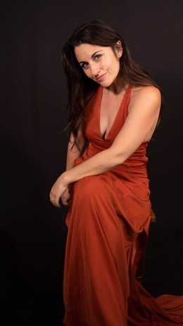 La actriz de West Side Story, Nuria Sánchez.