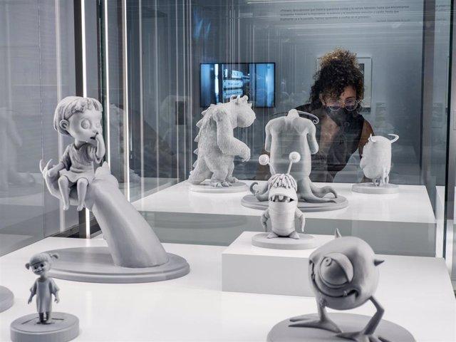 CaixaForum Palma exhibirá hasta enero dibujos y maquetas de Pixar profundizando en la creación de sus personajes