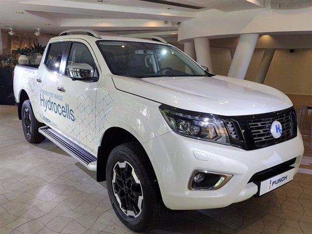 El modelo de coche con hidrógeno que Punch quiere fabricar en las plantas de Nissan en Barcelona.