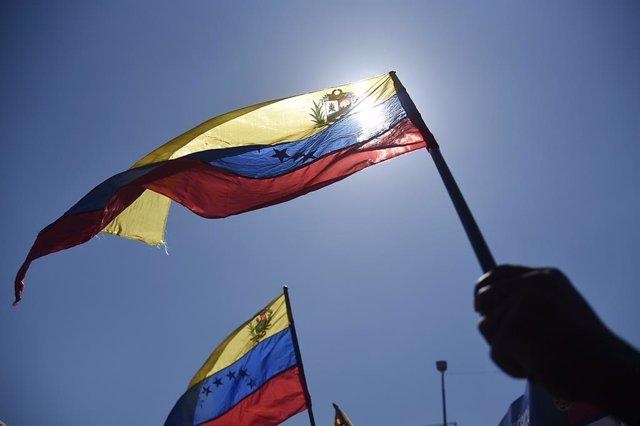 Banderas de Venezuela.