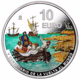 Archivo - La Casa de la Moneda lanza la III moneda del V centenario de la Vuelta al Mundo, dedicada a la Isla de las Especias