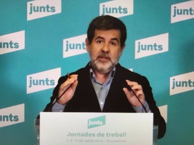 Arxiu - El secretari general de Junts, Jordi Sànchez