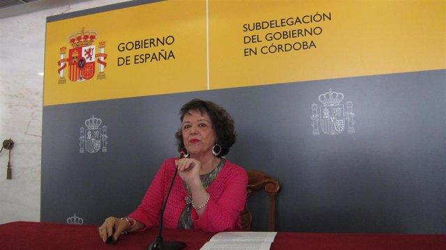 Archivo - La delegada del Gobierno de la Nación en Córdoba, Rafaela Valenzuela, en una imagen de archivo.