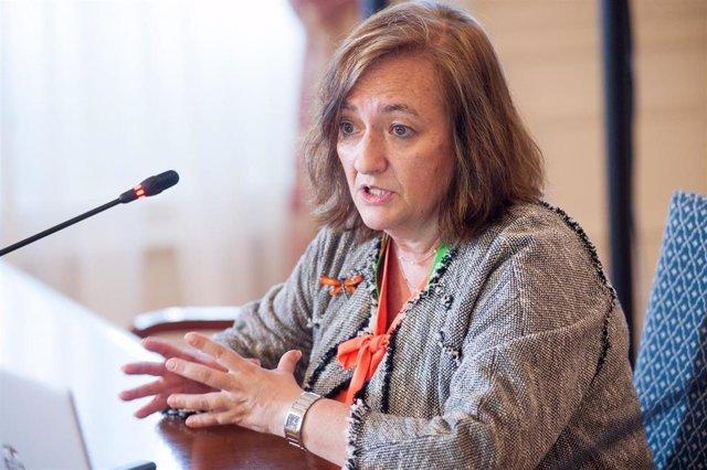 Archivo - La presidenta de la Autoridad Independiente de Responsabilidad Fiscal (AIReF), Cristina Herrero.