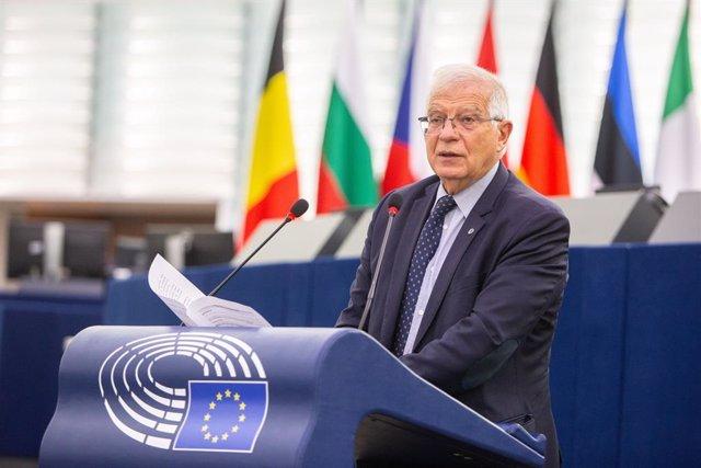 Josep Borrell comparece ante el Parlamento Europeo