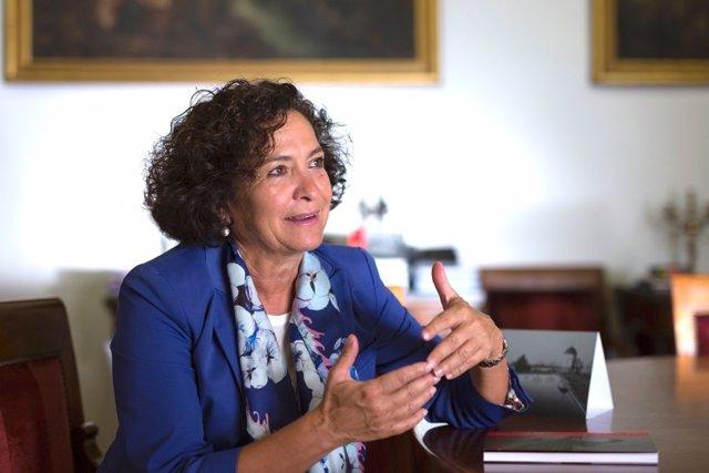 La rectora de la Universidad de Granada, Pilar Aranda.