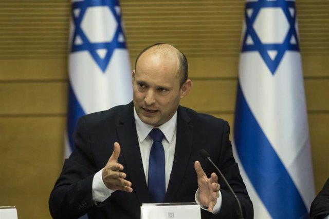 Archivo - El primer ministro israelí, Naftali Bennet