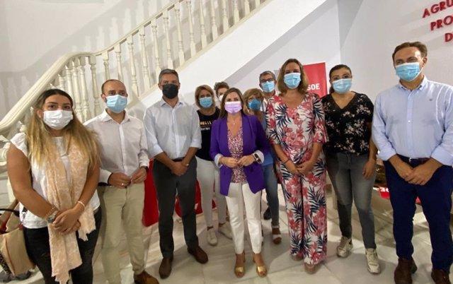Reunión del grupo de impulso del PSOE de Cádiz
