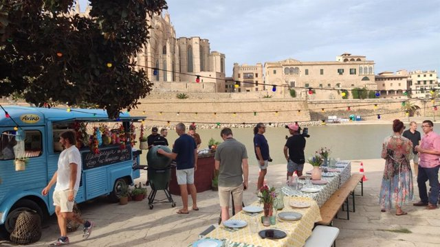 El programa culinario holandés 'Heart of the Mediterranean' graba durante la primera semana de septiembre en Mallorca