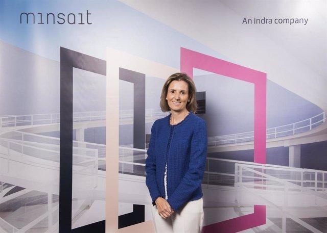 Archivo - La consejera delegada de Indra, responsable de Tecnologías de la Información (Minsait), Cristina Ruiz