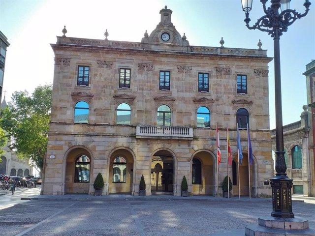 Archivo - Casa Consistorial de Gijón