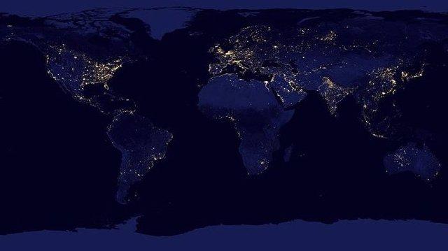 Iluminación artificial global