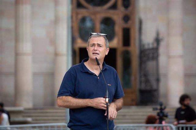 El president de l'Associació de Municipis per la Independència (AMI), Jordi Gaseni
