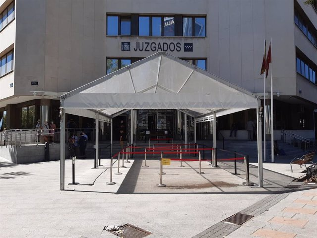Juzgados ordinarios de Plaza de Castilla