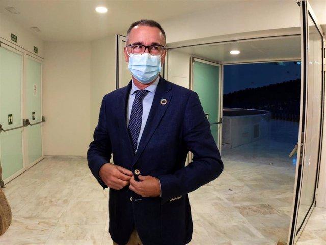 El consejero de Salud, Pablo Fernández Muñiz.