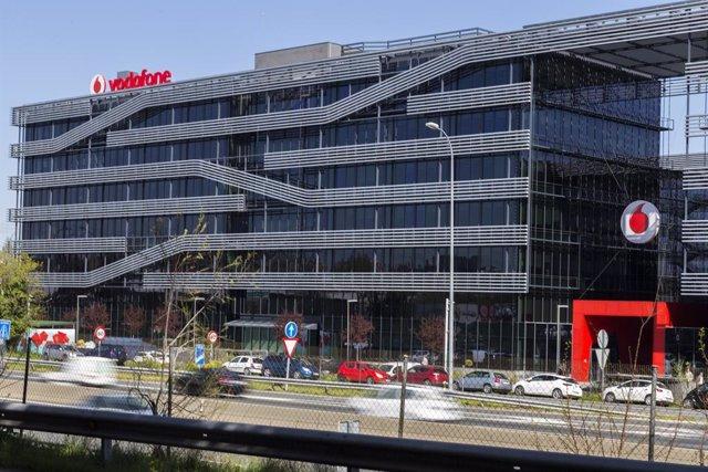 Archivo - Sede de Vodafone