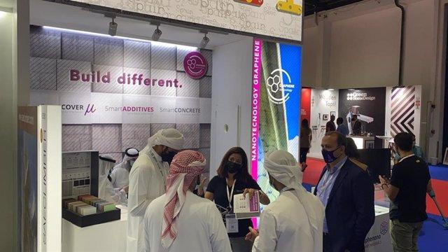 Graphenano ha presentado en Dubai su hormigón aligerado con aditivo de grafeno
