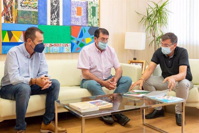 Juan Carlos Pérez Navas, Martín Gerez y José Luis Sánchez Teruel (PSOE).