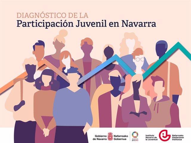 Portada del Diagnóstico de la Participación Juvenil en Navarra