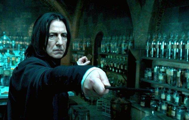 Alan Rickman fue el encargado de dar vida en la gran pantalla a Severus Snape en Harry Potter