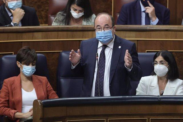 El ministro de Cultura, Miquel Iceta