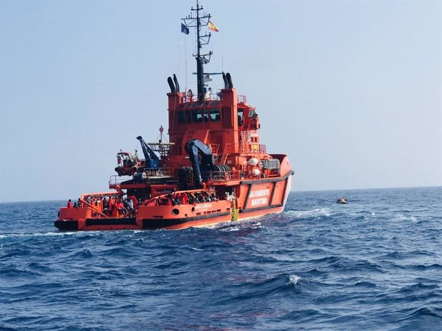Archivo - Embarcación de Salvamento Marítimo