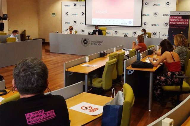 Presentación de la Noche Europea de los Investigadores en la UMA