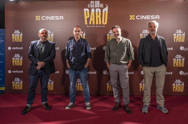 Carlos Areces, Adriá Collado y Eric Francés protagonizan la nueva comedia de David Marqués, 'El club del paro'