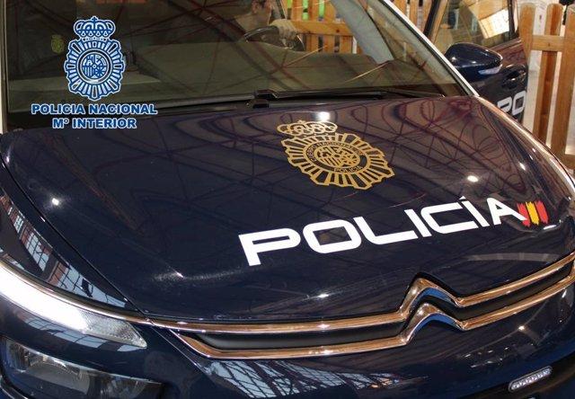 Archivo - Arxiu - Cotxe patrulla de Policia Nacional