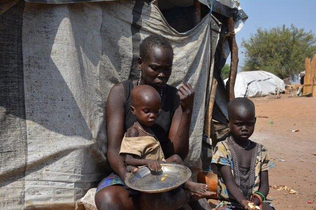 Hambruna en Sudán del Sur.