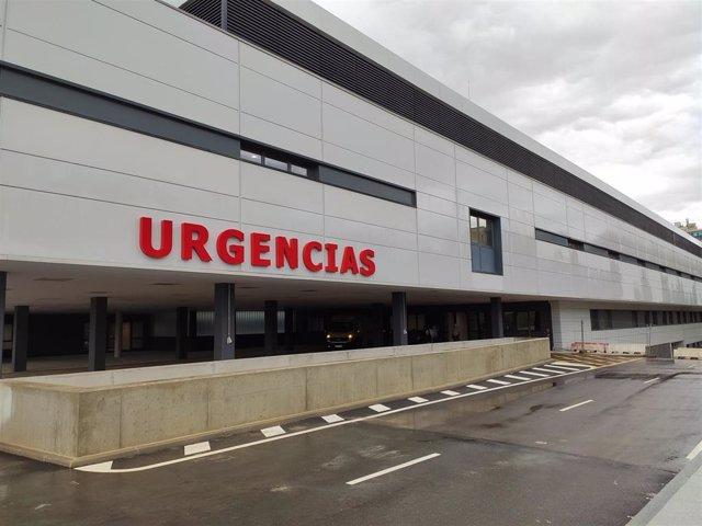 Servicio de Urgencias del nuevo Hospital Universitario de Salamanca.