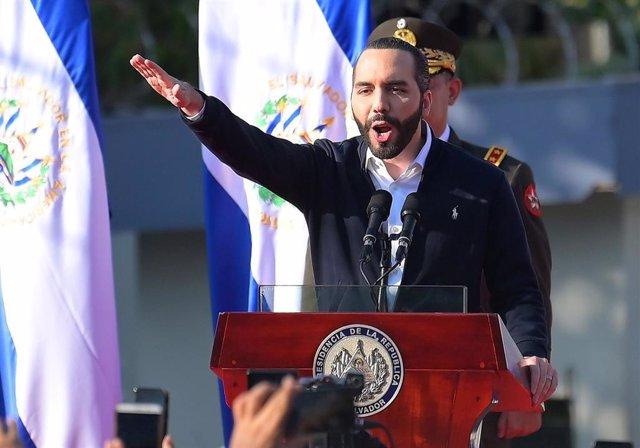 Archivo - El presidente de El Salvador, Nayib Bukele.