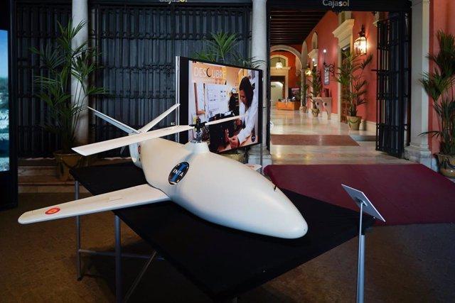 Archivo - Exposición 'Casi un siglo mirando al espacio', del Instituto Nacional de Técnica Aeroespacial.