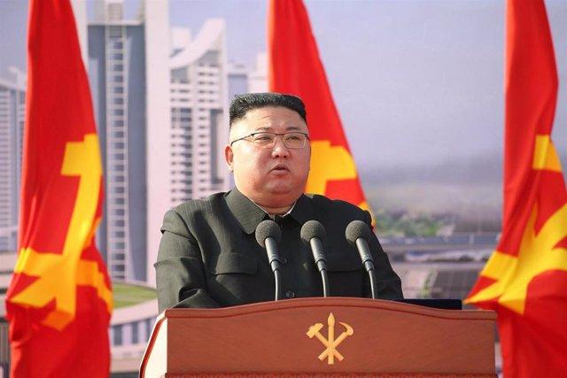 Archivo - Kim Jong Un.