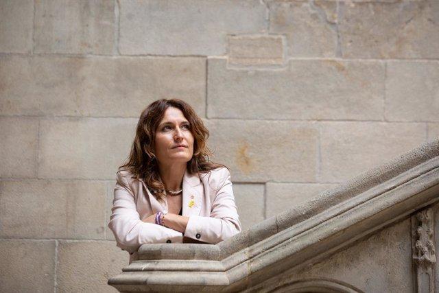 Archivo - Arxiu - La consellera de la Presidència del Govern, Laura Vilagrà